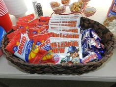Seeds (2 flavors) & candy for tables,  gum for goody bags