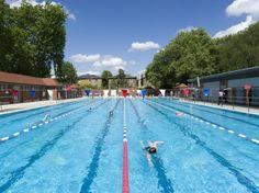 Olympic size, heated, 5 mins walk - London Fields lido