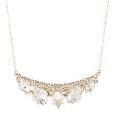 Jagged Diamond Cluster Pendant Necklace | Alexis Bittar