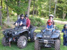 On the road again.. Lake Herridge Lodge & Resort Family Atving