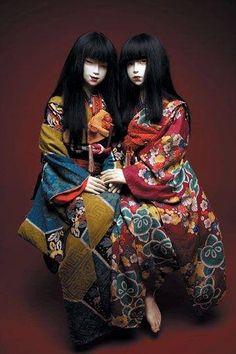 Art dolls in Kimono Dolls