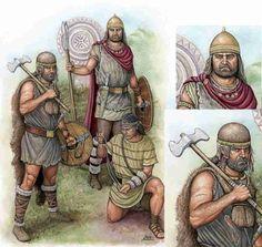 Corocotta, el líder cántabro que se enfrentó a Roma. Guerreros cántabros