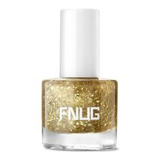 Gold Digger Nail Varnish (380 MXN) ❤ liked on Polyvore featuring beauty products, nail care and nail polish