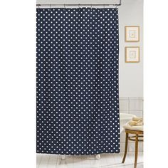 Dots Shower Curtain - The Preppy Bath on Joss and Main