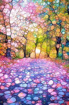 Spring Walkways by Tara Turner