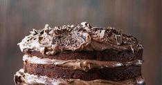 Pätkiskakku – tässä on suklaanystävän suosikkiherkku! Let Them Eat Cake, Vegan Recipes, Food And Drink, Vegetarian, Sweets, Baking, Desserts, Drinks, Tailgate Desserts