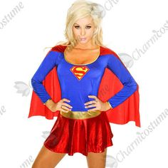 bfe29b8d756ba Adult Sexy Cosplay Super Woman Costume American Wonder Women Costume Plus  Size XXXL Halloween Superhero Women Cape Costume 8349