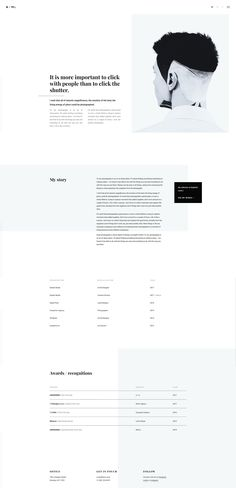 Fotico Is A Trendy Minimalistic And Ultra Modern Html5 Template