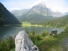 Morgenstimmung am Obersee im Kanton Glarus