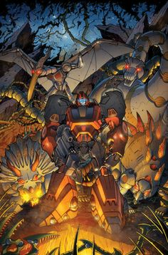 Transformers RID #8 cover colors by *khaamar on deviantART