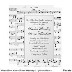 White Sheet Music Th