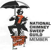 Made sure your chimney sweep is certified and is a member of the National Chimney Sweep Guild!!