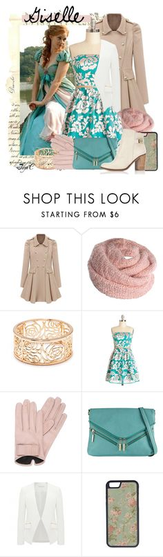 """""""Giselle - Winter - Disney's Enchanted"""" by rubytyra ❤ liked on Polyvore featuring Forever 21, Mario Portolano, Call it SPRING, Forever New, CellPowerCases, Miss Selfridge, Winter, disney, disneybound and enchanted"""