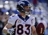 Broncos' Wes Welker returns to practice field