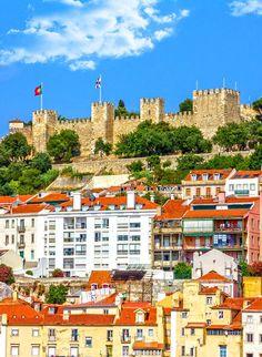 2. Lisbon fortress of Saint George (Castelo de Sao Jorge), Portugal