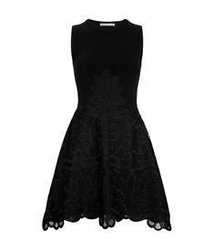 View the Macramé Knit Skater Dress