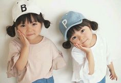 52 Ideas For Baby Korean Kembar Cute Asian Babies, Cute Twins, Korean Babies, Asian Kids, Cute Babies, Twin Baby Girls, Twin Babies, Kids Girls, Baby Kids