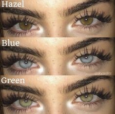 Hazel Green Eyes, Hazel Eyes, Cute Eyes, Pretty Eyes, Beautiful Eyes Color, Eye Contact Lenses, Aesthetic Eyes, Eye Photography, Eye Art
