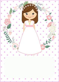 primera comunión f&f plus size dresses - Plus Size First Communion Decorations, Baptism Cookies, Communion Invitations, Ideas Para Fiestas, First Holy Communion, Holidays And Events, Christening, Iphone Wallpaper, Art Projects