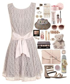 """""""Kimberly - $1,701.75"""" by shazellove ❤ liked on Polyvore featuring Little Mistress, Forever 21, Casetify, Urban Decay, Maybelline, A.J. Morgan, Valentino, Burberry, By Terry and Charlotte Russe"""