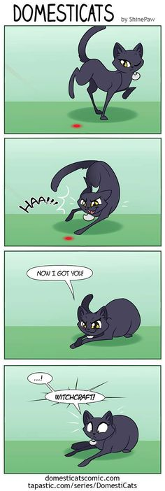 DomestiCats :: The Red Dot   Tapastic Comics - image 1