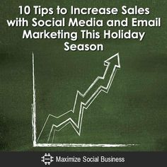 Social media and email marketing can extend the reach of your brand, alert customers of holiday promotions, and build sales activity at a minimal cost.