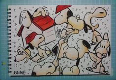 Snoopy art