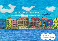 Gratis Lonely Planet Reisgids bij Clinton ReisCreaties