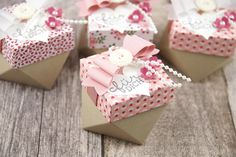 (Paper) diamonds are a girl's best friend. Learn how to make these romantic…