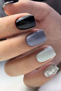 short gel nail designs Do you need the latest gel short nails inspiration in 2020 We have the abundant and popular short nail ideas in 2020 for you. The 36 simple and unique short nail ideas will bring new inspiration to your nail design. Fancy Nails, Cute Nails, Pretty Nails, Hair And Nails, My Nails, Short Gel Nails, Simple Gel Nails, Cute Short Nails, Short Nails Art