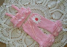 Baby Girl Ruffled Pants Outfit Always Pretty In Pink is the name for this little outfit. Easy to read and follow pattern for these adorable little ruffled pants, and mesh like top. Too many ruffled for you, make less, not enough add more. This basic pants