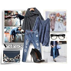 A fashion look from January 2015 featuring long sleeve shirts, long cape and destroyed jeans. Browse and shop related looks. Valentino Valentina, Simple, Polyvore, Women, Fashion, Moda, Women's, Fashion Styles, Woman