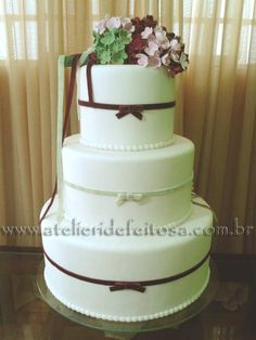Galeria de fotos - Bolos para casamento BH - Atelier Ide Feitosa