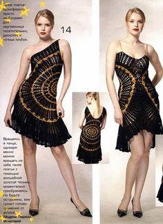 crochet knit unlimited: Doily-dress