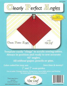 - Clearly Perfect Angles NLS-CPA08 - Gruber's Quilt Shop - Be Prepared to be Overwhelmed!