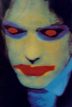 The Cure Robert Smith Face Original Promotional DIGITAL Poster Image
