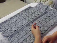Dowry Ivy Vest Model (Part - Handmade Crochet Baby Dress Pattern, Crochet Coat, Crochet Patterns, Daljit Kaur, Beaded Cross Stitch, Baby Knitting, Diy Crafts, Sewing, Youtube Youtube