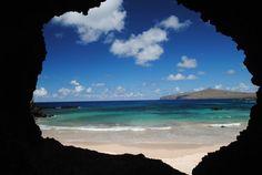 Ovahe beach, Rapa Nui - Chile