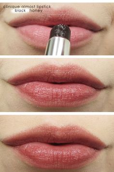 Clinique Black Honey Almost Lipstick-the perfect color for almost every human being.