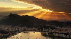 Beautiful Rio De Janeiro HD Desktop Panorama Widescreen Wallpaper with 1920×1080 High Resolution for Desktop