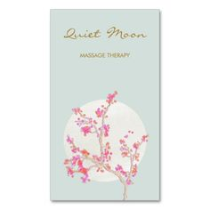 A lovely card great for nail salons, massage therapists, cosmetologists, estheticians, beauty salon and more.