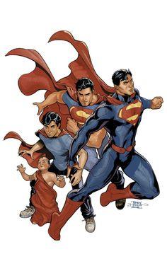 #Superman #Fan #Art. (Superman: Action Comics #17 Cover) By: Terry Dodson. ÅWESOMENESS!!!™ ÅÅÅ+