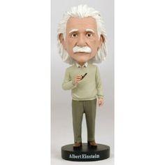 Amazon.com: Royal Bobbles Albert Einstein Bobblehead: Toys & Games