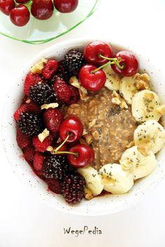Archiwa: Śniadania - WegePedia Tahini, Oatmeal, Breakfast, Fit, Author, The Oatmeal, Morning Coffee, Rolled Oats