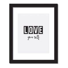- Design - Details Hang this beautiful 'Love your self' inspirational print on your walls ◦ Materials: Archival Paper, Ink, Love ◦ Made to order ◦ Frame is not included in the purchase ◦ Handmade in U