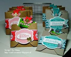 Scraps'! by Diana #Stampin'Up! #ohgoodies #thee