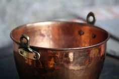 Vintage Copper Pot