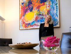 FALLING IN, object painting 21.55 x 1.55 Kim Okura, image courtesy of VCA Vienna City Apartments™ Okura Image, Vienna, City, Painting, Painting Art, Cities, Paintings, Painted Canvas, Drawings