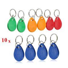 [US$4.56] EM4305 125KHZ Copy Rewritable EM ID Keyfobs RFID Tag Key Ring Card #em4305 #125khz #copy #rewritable #keyfobs #rfid #ring #card
