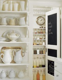 pantries want to be pretty too...